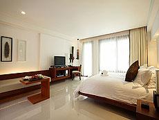 プーケット パトンビーチのホテル : ラ フローラ リゾート パトン(1)のお部屋「デラックス プールアクセス」