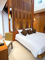 プーケット パトンビーチのホテル : ラ フローラ リゾート パトン(La Flora Resort Patong)のプール ヴィラ ウィズ ロフトルームの設備 Bedroom