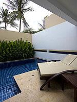 プーケット パトンビーチのホテル : ラ フローラ リゾート パトン(La Flora Resort Patong)のプール ヴィラ ウィズ ロフトルームの設備 Private Pool