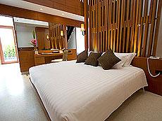 プーケット パトンビーチのホテル : ラ フローラ リゾート パトン(1)のお部屋「プール ヴィラ ウィズ ロフト」
