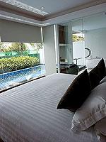 プーケット パトンビーチのホテル : ラ フローラ リゾート パトン(La Flora Resort Patong)のビーチフロント プール ヴィラルームの設備 Bedroom