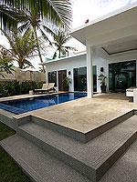 プーケット パトンビーチのホテル : ラ フローラ リゾート パトン(La Flora Resort Patong)のビーチ グランド プール ヴィラルームの設備 Private Pool