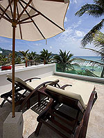 プーケット パトンビーチのホテル : ラ フローラ リゾート パトン(La Flora Resort Patong)のビーチ グランド プール ヴィラルームの設備 Terrace