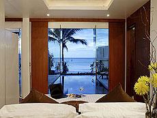 プーケット パトンビーチのホテル : ラ フローラ リゾート パトン(1)のお部屋「ビーチ グランド プール ヴィラ 1ベッド」