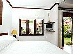 プーケット バンタオビーチのホテル : ラ ヴィラ ルージュ(La Villa Rouge)の4ベッドルームルームの設備 Master Bedroom