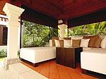 プーケット バンタオビーチのホテル : ラ ヴィラ ルージュ(La Villa Rouge)の4ベッドルームルームの設備 Sala