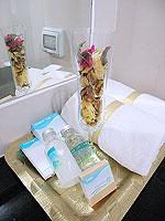 パタヤ シラチャーのホテル : レムトン サービス アパートメント(Laemtong Serviced Apartment)の1ベッド ルームルームの設備 Bath Amenities