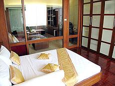 パタヤ シラチャーのホテル : レムトン サービス アパートメント(1)のお部屋「1ベッド ルーム」