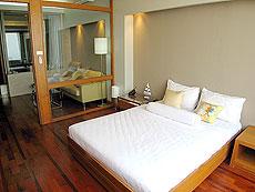 パタヤ シラチャーのホテル : レムトン サービス アパートメント(1)のお部屋「プレミア 1ベッド ルーム」