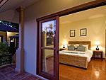 サムイ島 チョンモーンビーチのホテル : ラムヤイ ヴィラ(Lamyai Villa)の3ベッドルームルームの設備 Bedroom