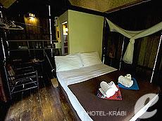 クラビ サービスヴィラのホテル : ランタ キャストアウェイ ビーチ リゾート(1)のお部屋「ガーデン バンガロー」