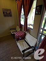 クラビ サービスヴィラのホテル : ランタ キャストアウェイ ビーチ リゾート(Lanta Castaway Beach Resort)のトロピカル ダゼ ルームルームの設備 Room View