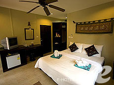 クラビ サービスヴィラのホテル : ランタ キャストアウェイ ビーチ リゾート(1)のお部屋「トロピカル ダゼ ルーム」