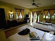 クラビ サービスヴィラのホテル : ランタ キャストアウェイ ビーチ リゾート(1)のお部屋「シーブリーズ バンガロー」