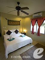 クラビ サービスヴィラのホテル : ランタ キャストアウェイ ビーチ リゾート(Lanta Castaway Beach Resort)のトロピカル ダゼ バンガロールームの設備 Room View