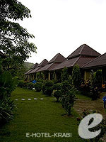 クラビ サービスヴィラのホテル : ランタ キャストアウェイ ビーチ リゾート(Lanta Castaway Beach Resort)のトロピカル ダゼ バンガロールームの設備 Exterior