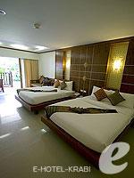 クラビ サービスヴィラのホテル : ランタ カジュアリーナ ビーチ リゾート(Lanta Casuarina Beach Resort)のファミリールームの設備 Room View