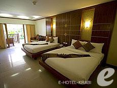 クラビ サービスヴィラのホテル : ランタ カジュアリーナ ビーチ リゾート(1)のお部屋「ファミリー」