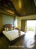 クラビ サービスヴィラのホテル : ランタ カジュアリーナ ビーチ リゾート(Lanta Casuarina Beach Resort)のビラルームの設備 Room View