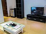 クラビ インターネット接続(無料)のホテル : ランタ スポーツ リゾート(Lanta Sport Resort)のシルヴァー スーペリアルームの設備 Living Room