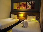 クラビ インターネット接続(無料)のホテル : ランタ スポーツ リゾート(Lanta Sport Resort)のシルヴァー デラックスルームの設備 Bedroom