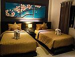 クラビ インターネット接続(無料)のホテル : ランタ スポーツ リゾート(Lanta Sport Resort)のゴールド デラックスルームの設備 Bedroom