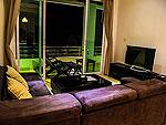 クラビ インターネット接続(無料)のホテル : ランタ スポーツ リゾート(Lanta Sport Resort)のゴールド デラックスルームの設備 Living Room
