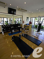 Fitness : Layana Resort & Spa, Fitness Room, Phuket