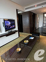 Living Room : Avantec Suite at Le Meridien Bangkok, Swiming Pool, Bangkok