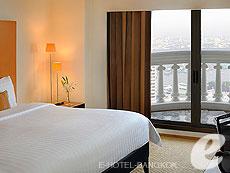 バンコク チャオプラヤ川周辺のホテル : ルブア アット ステート タワー(Lebua at State Tower)のお部屋「リバー ビュー スイート バルコニー」
