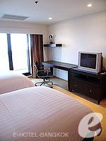 バンコク チャオプラヤ川周辺のホテル : ルブア アット ステート タワー(Lebua at State Tower)の2ベッドルーム エグゼクティブ スイートルームの設備 Bedroom