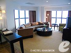 バンコク チャオプラヤ川周辺のホテル : ルブア アット ステート タワー(Lebua at State Tower)のお部屋「2ベッドルーム エグゼクティブ スイート」
