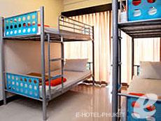プーケット プーケットタウンのホテル : ラッブ サバーイ ゲストハウス(1)のお部屋「ファン ドーム」