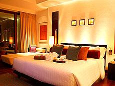 サムイ島 フィットネスありのホテル : マイ サムイ ビーチ リゾート(1)のお部屋「デラックス(ツイン)」