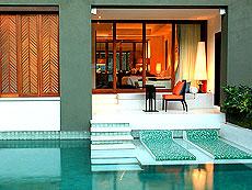 サムイ島 フィットネスありのホテル : マイ サムイ ビーチ リゾート(1)のお部屋「デラックス プールアクセス(ツイン)」