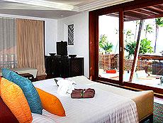サムイ島 フィットネスありのホテル : マイ サムイ ビーチ リゾート(1)のお部屋「デラックス プールスイート(ツイン)」