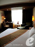 バンコク スクンビットのホテル : マジェスティック グランデ スクンビット(Majestic Grande Sukhumvit)のグランデ スーペリアルームの設備 Bedroom