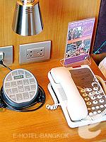 バンコク スクンビットのホテル : マジェスティック グランデ スクンビット(Majestic Grande Sukhumvit)のグランデ スーペリアルームの設備 Control Panel