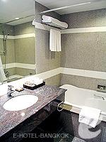 バンコク スクンビットのホテル : マジェスティック グランデ スクンビット(Majestic Grande Sukhumvit)のグランデ スーペリアルームの設備 Bathroom