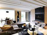 バンコク スクンビットのホテル : マジェスティック グランデ スクンビット(Majestic Grande Sukhumvit)のマジェスティック グランデ スイートルームの設備 Living Room