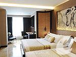 バンコク スクンビットのホテル : マジェスティック グランデ スクンビット(Majestic Grande Sukhumvit)のマジェスティック グランデ スイートルームの設備 Bedroom