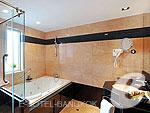バンコク スクンビットのホテル : マジェスティック グランデ スクンビット(Majestic Grande Sukhumvit)のマジェスティック グランデ スイートルームの設備 Bath Room