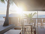 Beachside Restaurant / Malibu Koh Samui Resort & Beach Club, หาดเฉวง