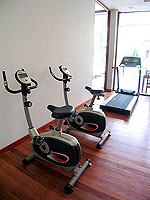 Fitness Gym : Malisa Villa Suites, Fitness Room, Phuket