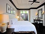プーケット カタビーチのホテル : マリサ ヴィラ スイート(Malisa Villa Suites)のプール ヴィラルームの設備 Bedroom