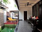 プーケット カタビーチのホテル : マリサ ヴィラ スイート(Malisa Villa Suites)のプール ヴィラルームの設備 Private Pool