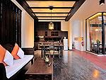 プーケット カタビーチのホテル : マリサ ヴィラ スイート(Malisa Villa Suites)のグランド プール ヴィラルームの設備 Dining Area