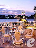 バンコク プールありのホテル : マンダリン オリエンタル バンコク 「Italian Restaurant」