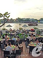 バンコク プールありのホテル : マンダリン オリエンタル バンコク 「Int'l Restaurant」