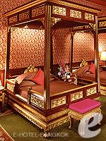 バンコク チャオプラヤー川周辺のホテル : マンダリン オリエンタル バンコク(Mandarin Oriental Bangkok)のヘリテージ オーサーズ スイートルームの設備 Bedroom